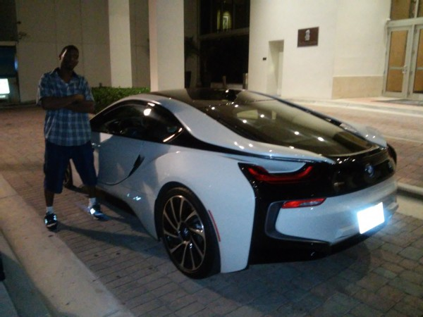 John Dorsey and BMW i8