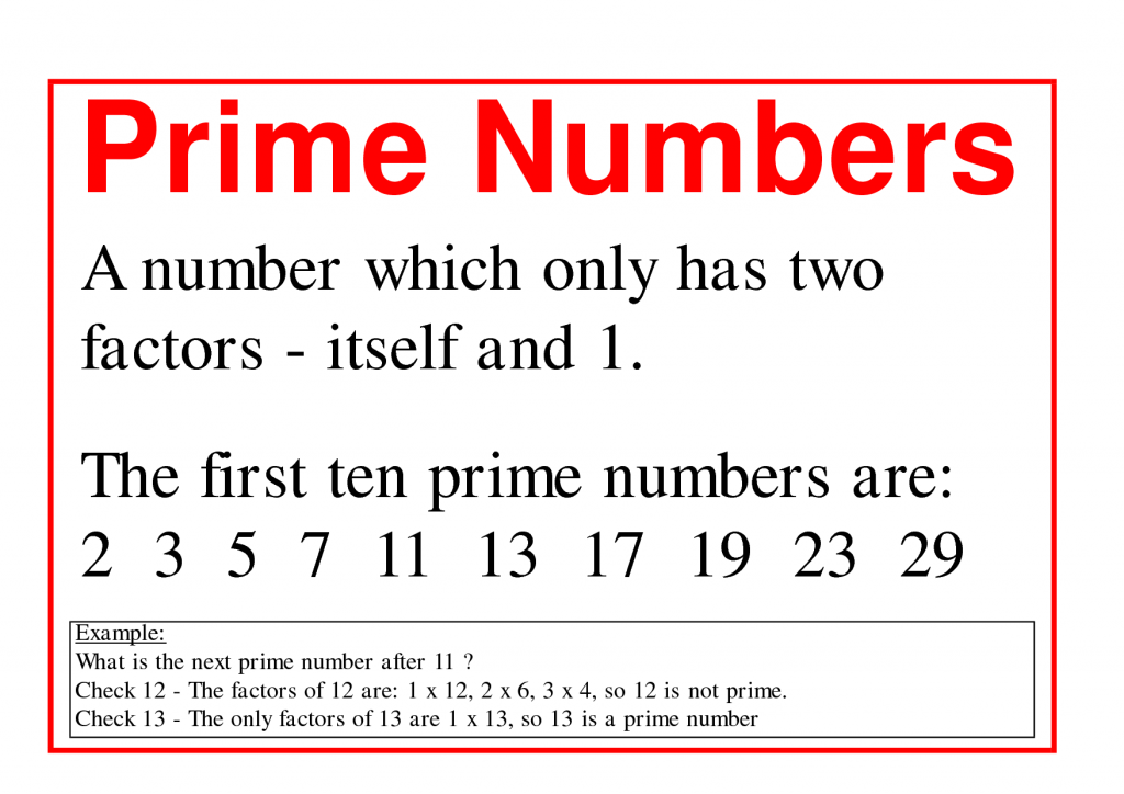 what is a prime number