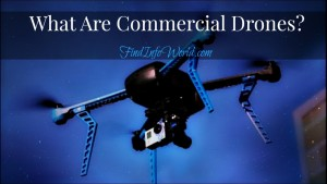 what are commercial drones
