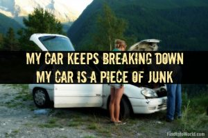 my car keeps breaking down