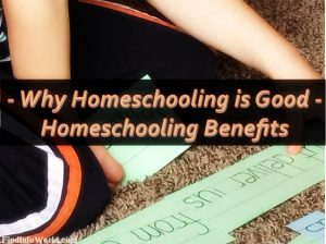 Why Homeschooling is Good