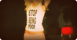 How to Stop Being Poor